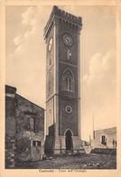 """M07894""""CANICATTI' - TORRE DELL'OROLOGIO""""    CART ORIG. SPED. 1948 - Altre Città"""