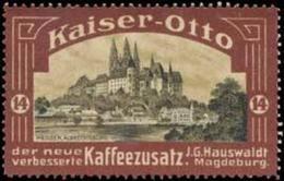 Magdeburg: Albrechtsburg Meissen Reklamemarke - Erinnofilia