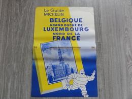 Affiche  *  Le Guide Michelin Belgique, Luxembourg , Nord De La France (bibendum) - Affiches