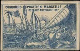 Marseille: Concours-Exposition Reklamemarke - Cinderellas