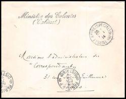 6711/ Lettre (cover) France Guerre 1914/1918 à étudier Trésor Et Postes POSTE MILITAIRE AU SERVICE DES ALLIES BELGIQUE - Guerre De 1914-18