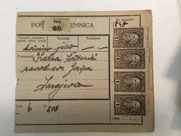 KINDOM OF SHS  KRALJEVINA SRBA HRVATA I SLOVENACA  1921.  SLOVENIAN STAMPS 1 DINARA + 20 PARA - Slowenien