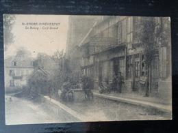 SAINT ANDRE D' HEBERTOT : CAFE DAVID, LE BOURG - France