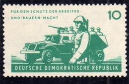 EAST GERMANY DDR DEUTSCHE DEMOKRATISCHE GERMANIA EST 1962 NATIONAL PEOPLE'S ARMY 10pf MNH - Neufs