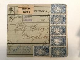 KINDOM OF SHS  KRALJEVINA SRBA HRVATA I SLOVENACA  1920.  SLOVENIAN STAMPS 2 KRUNE + 20 + 10 VINARA - Slowenien