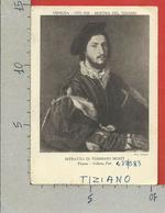 CARTOLINA VG ITALIA - VENEZIA - Mostra Di Tiziano 1935 - Ritratto Di Tommaso Mosti - 10 X 15 - ANN. 1935 - Esposizioni
