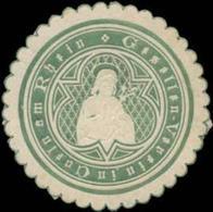 Culm/Rhein: Gesellen-Verein In Culm Am Rhein Siegelmarke - Erinnophilie