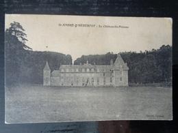 SAINT ANDRE D' HEBERTOT :  LE CHATEAU LES PELAUNE - France