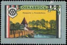 Osnabrück: Hasepartie Reklamemarke - Cinderellas