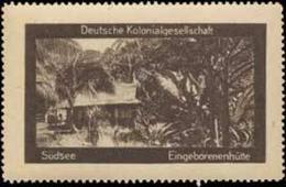 Berlin: Südsee Reklamemarke - Erinnophilie