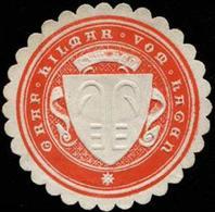 Graf Hilmar Vom Hagen Siegelmarke - Cinderellas