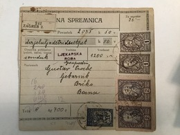 KINDOM OF SHS  KRALJEVINA SRBA HRVATA I SLOVENACA  1920.  SLOVENIAN STAMPS 2 DINARA + 50 PARA - Slowenien