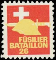 Füsilier Bataillon 26 Reklamemarke - Cinderellas