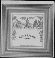 Leipzig: Ganzsache Briefmarken-Handlung Reklamemarke - Cinderellas