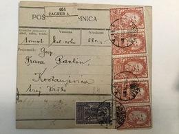 KINDOM OF SHS  KRALJEVINA SRBA HRVATA I SLOVENACA  1920.  SLOVENIAN STAMPS 5 KRUNA + 60 - Slowenien