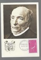 Carte Maximum 1957 Schoelcher - 1950-59