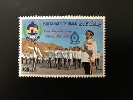 1984 Mi 258 Police Day - MNH - Neuf** - Oman