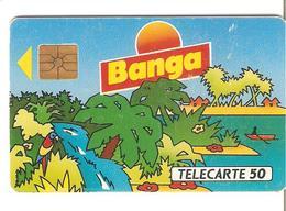 TELECARTES  50 UNITES BANGA PERROQUET AU VERSO - 50 Unità