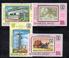XP5009 - SWAZILAND 1979 , Serie Yvert N. 327/330  ***   Upu - Swaziland (...-1967)
