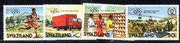 XP5011 - SWAZILAND 1980 , Serie Yvert N. 336/339  ***   LONDON - Swaziland (...-1967)