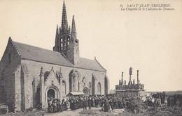SAINT-JEAN-TROLIMON: La Chapelle Et Le Calvaire De Tronoen - Saint-Jean-Trolimon