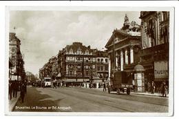 CPA - Carte Postale -BELGIQUE Bruxelles - Bd Anspach-1932 VM1908 - Lanen, Boulevards