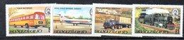 XP5012 - SWAZILAND 1981 , Serie Yvert N. 364/367  *** - Swaziland (...-1967)