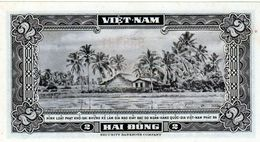 Billet Du Vietnam Du Sud  2 Ding  N D (1955 ) En Sup - - Vietnam
