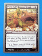 MAGIC THE GATHERING WHEN FLUFFY BUNNIES ATTACK - Magic The Gathering