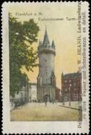 Ludwigsburg: Eschenheimer Turm Reklamemarke - Cinderellas