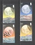 U1431 ASCENSION ISLAND FAUNA BIRDS SPACE LUNAR ECLIPSE NIGHT SKY #1170-73 1SET MNH - Espace