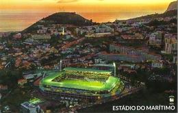STADIUM POSTCARD STADION ESTADIO STADE STADIO FUNCHAL - Stadiums