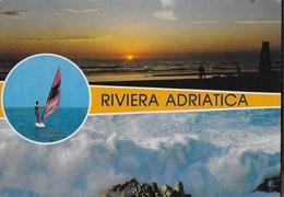 RIVIERA ADRIATICA - VIAGGIATA 1988 PER L'ESTERO (SVIZZERA) - Non Classificati