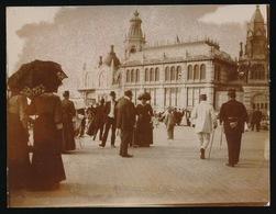 OOSTENDE - OUDE ORIGINELE FOTO 10.5 X 8 CM   1909 - Oostende