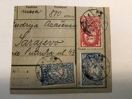 KINDOM OF SHS  KRALJEVINA SRBA HRVATA I SLOVENACA    SLOVENIAN STAMPS 6 X 2 KRUNE + 5 KRUNA + 5 + 25 PARA - Slowenien