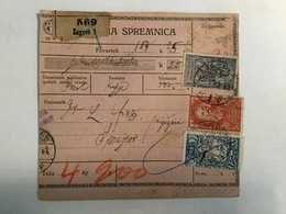 KINDOM OF SHS  KRALJEVINA SRBA HRVATA I SLOVENACA    SLOVENIAN STAMPS 2 + 5  KRUNE + 40 VINARA + 60 - Slowenien