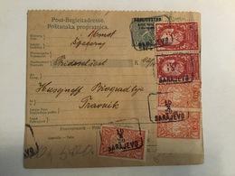 KINDOM OF SHS  KRALJEVINA SRBA HRVATA I SLOVENACA    SLOVENIAN STAMPS 2 X 5 + 4 X 1  KRUNE + 50 DINARA - Slowenien