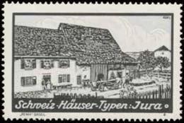 Basel: Jura Haus Reklamemarke - Erinnofilie