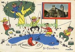 342  France Saint Gaudens - La Pêche Est Bonne - Circulado Em 25/09/1969 - Saint Gaudens