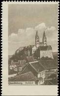 Quedlinburg: Schloß Reklamemarke - Erinnofilie