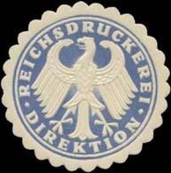 Berlin: Reichsdruckerei Direktion Siegelmarke - Erinnophilie