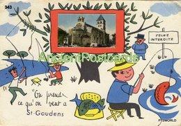 343  France Saint Gaudens - Circulado Em 25/09/1969 - Saint Gaudens