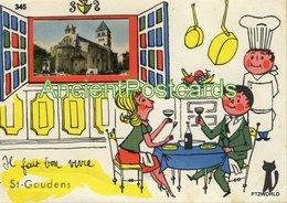 345  France Saint Gaudens - Circulado Em 25/09/1969 - Saint Gaudens