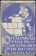 Prag: Hausbauverein Reklamemarke - Cinderellas