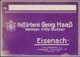 Eisenach: Hoffärberei Reklamemarke - Cinderellas