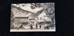 Cp 74 MONNETIER HAUTE SAVOIE Café Restaurant Du Petit Salève  ( Montagne Habitation Voiture Automobile ) - France