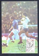 Andora 1982 Maximum Card: Football Fussball Soccer Calcio; FIFA World Cup Espana 82; - World Cup