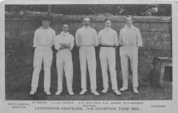 LANCASHIRE AMATEURS. THE CHAMPION TEAM 1904 #84923 - Other