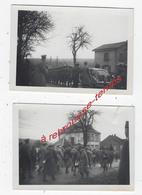 2 Photos En Lorraine  Décembre 1939-  Format 8,6 X 6,2cm - War, Military