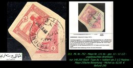 EARLY OTTOMAN SPECIALIZED FOR SPECIALIST, SEE...Mi. Nr. 752 - Mayo 111 As - Halbierung -R- - 1920-21 Anatolie